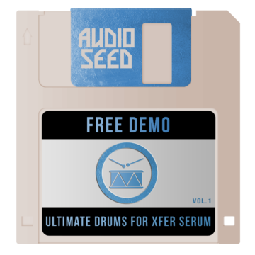 audioseed free dl template ultimate drums